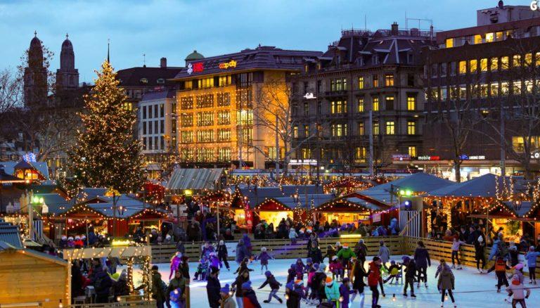 In Svizzera, dove il Natale è una meraviglia di luci, eventi, leccornie e tradizioni